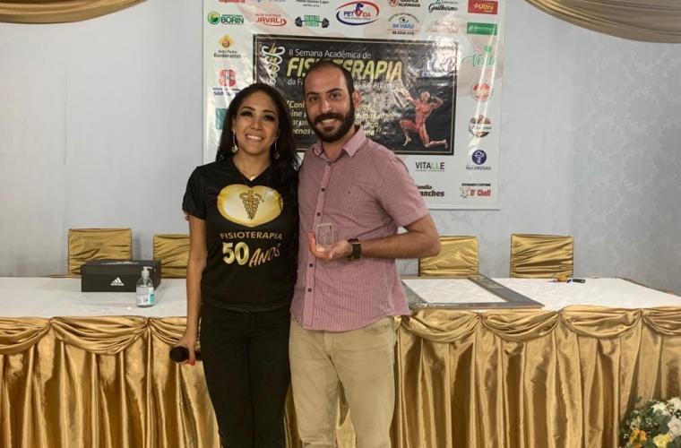 Coordenadores do Curso de Fisioterapia de Juara e Guarantã do Norte
